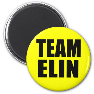 TEAM ELIN T-shirts, Sweats, Bags 2 Inch Round Magnet