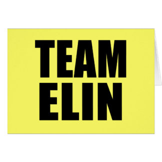 TEAM ELIN T-shirts, Sweats, Bags Card