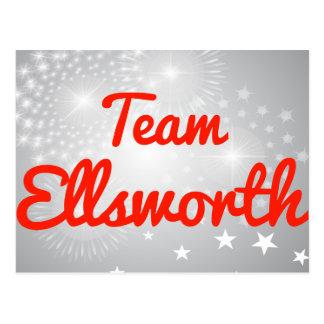 Team Ellsworth Postcard