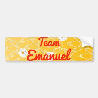 Team Emanuel Bumper Stickers