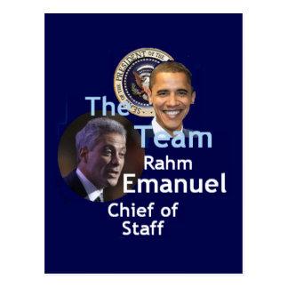 Team Emanuel Postcard