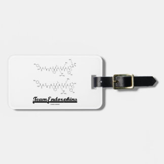 Team Endorphins (alpha- and beta-neoendorphins) Bag Tag