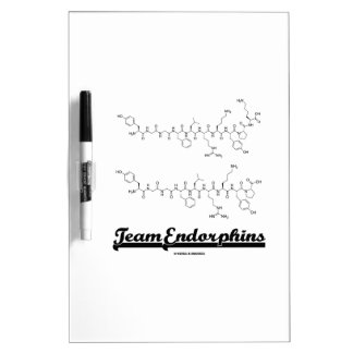 Team Endorphins (alpha- and beta-neoendorphins) Dry Erase Board