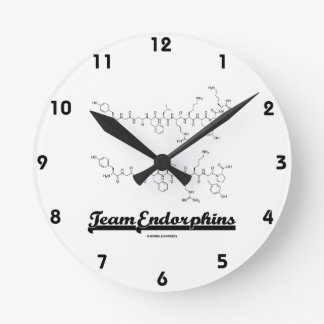 Team Endorphins (alpha- and beta-neoendorphins) Round Clock