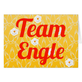 Team Engle Card