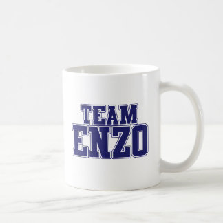 Team Enzo Classic White Coffee Mug