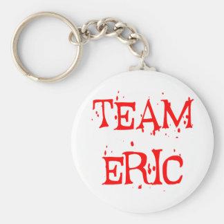 Team Eric Basic Round Button Keychain