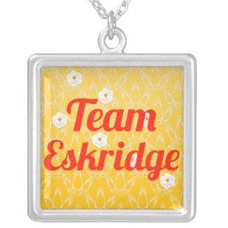 Team Eskridge Personalized Necklace