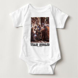 Team Euclid (Depiction Of Euclid In Ancient Times) Baby Bodysuit