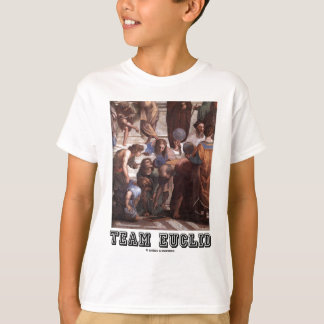 Team Euclid (Depiction Of Euclid In Ancient Times) T-Shirt