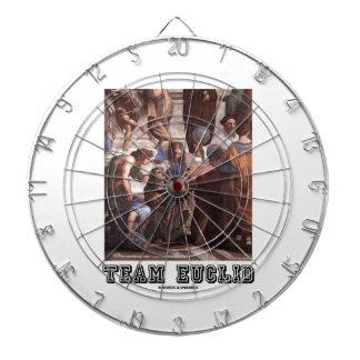 Team Euclid (Painting) Dart Board