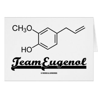 Team Eugenol (Chemical Structure) Cards