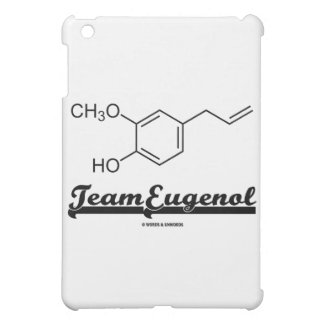 Team Eugenol (Chemical Structure) iPad Mini Cases