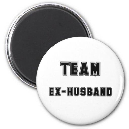 Team Ex-Husband Magnets