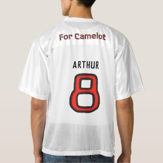 "Team Excalibur Player ""Arthur"" Men's Football Jersey"
