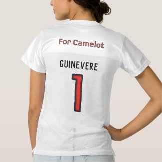 "Team Excalibur Player ""Guinevere"" Women's Football Jersey"