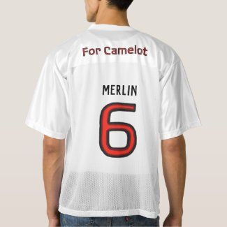 "Team Excalibur Player ""Merlin"" Men's Football Jersey"