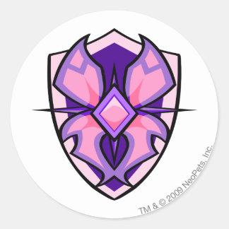 Team Faerieland Logo Classic Round Sticker