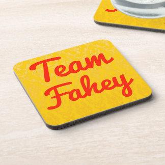 Team Fahey Drink Coaster