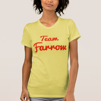 Team Farrow T Shirts