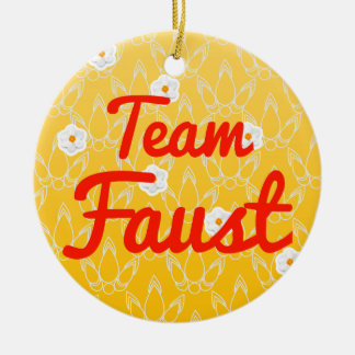 Team Faust Ornament