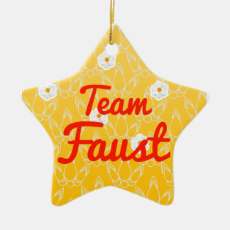 Team Faust Ornaments