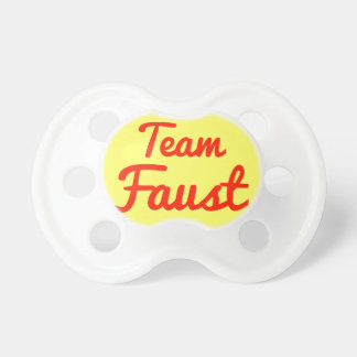Team Faust Pacifiers
