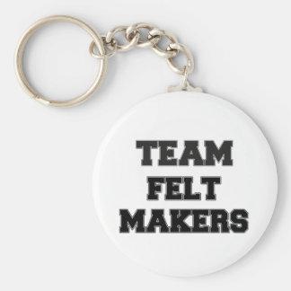 Team Felt Makers Keychains
