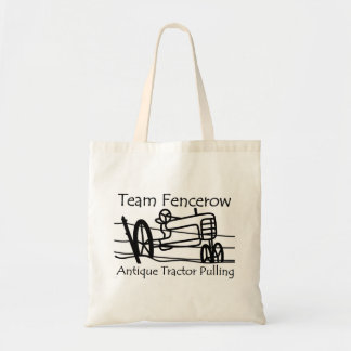 Team Fencerow Antique Tractor Pulling Tote Bag