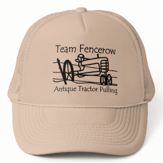 Team Fencerow Antique Tractor Pulling Trucker Hat