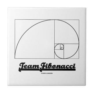 Team Fibonacci (Fibonacci Spiral) Ceramic Tile