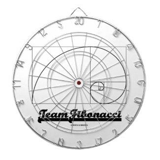 Team Fibonacci (Fibonacci Spiral) Dart Boards
