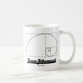 Team Fibonacci (Fibonacci Spiral) Mugs