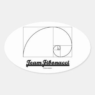 Team Fibonacci Fibonacci Spiral Sticker