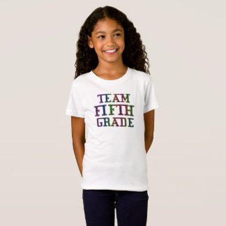 Team Fifth Grade, Back To School Novelty T-Shirt