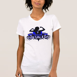 Team Fight Like a Girl - ALS Tee Shirts