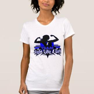 Team Fight Like a Girl - ALS T Shirt