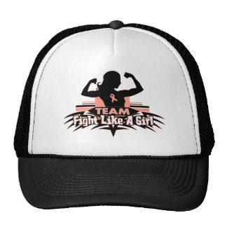 Team Fight Like a Girl - Endometrial Cancer Hats