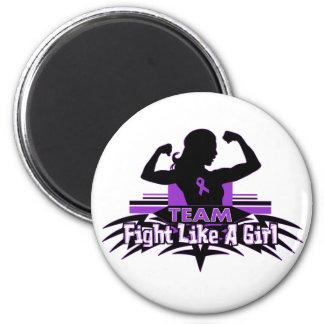 Team Fight Like a Girl - Epilepsy Magnets