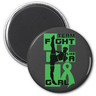 Team Fight Like A Girl Kick Kidney Disease Fridge Magnets