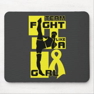 Team Fight Like A Girl Kick Sarcoma Mousepad