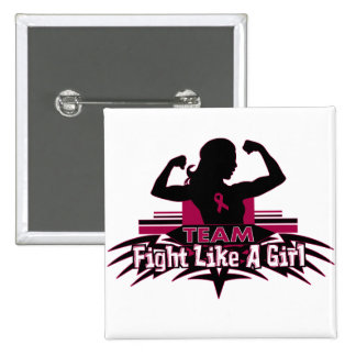Team Fight Like a Girl - Multiple Myeloma Pinback Buttons