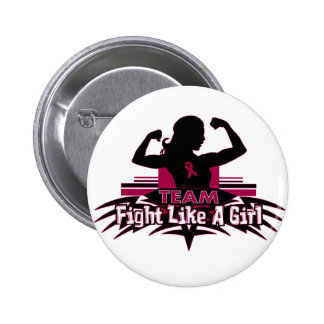 Team Fight Like a Girl - Multiple Myeloma Pinback Button