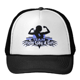 Team Fight Like a Girl - Stomach Cancer Trucker Hat