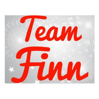 Team Finn Postcard