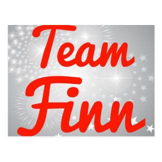 Team Finn Postcards