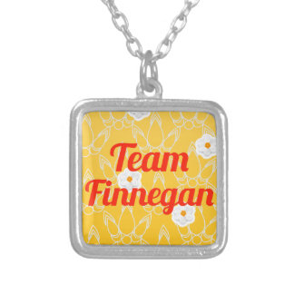 Team Finnegan Silver Plated Necklace
