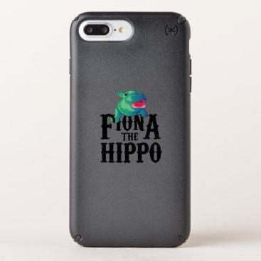 de_look Team Fiona The Hippo Love Hippopotamuss Speck iPhone Case