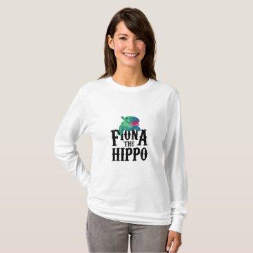 de_look Team Fiona The Hippo Love Hippopotamuss T-Shirt