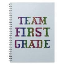 Team First Grade, Back To School Journal Notebook